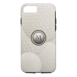 Monogram Golf Ball iPhone Case