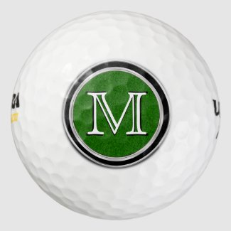 Monogram Golf Balls Set, Quality High PERFORMANCE Pack Of Golf Balls