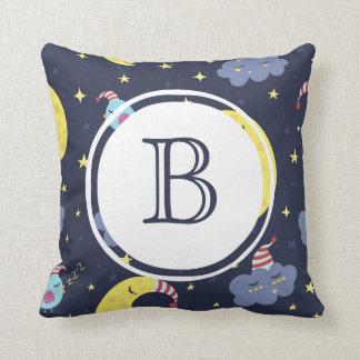 Monogram Good Night Sleep Tight Pillow