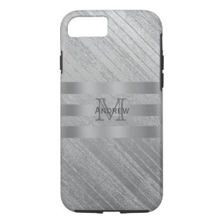 Monogram Grainy Metal Look Case