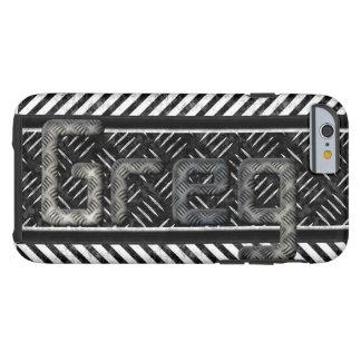 "Monogram ""Greg"" Metal Texture IPhone 6 Case"