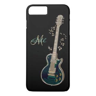 Monogram Guitar and Notes  iPhone 7 Plus Case