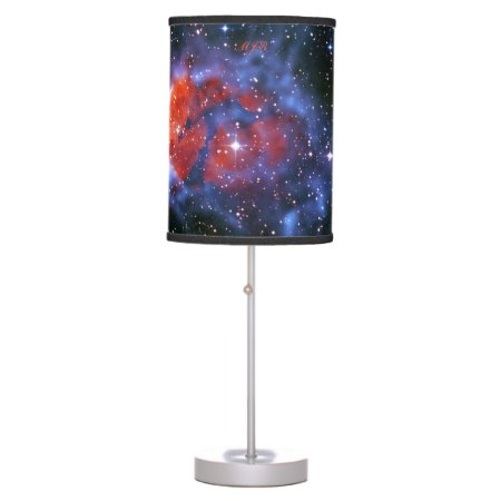 Monogram Gum 58 Emission Nebula, outer space image Table Lamp