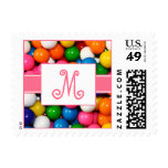 Monogram Gumballs Stamps
