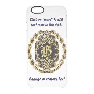 Monogram H iPhone 5/5s & 6-6 plus  Deflector Case