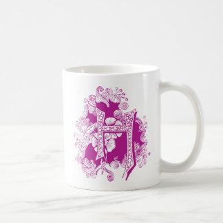 """Monogram """"H"""" Mug"""