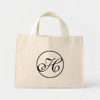 Monogram H Tiny Tote Bag