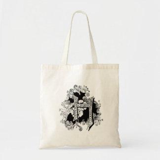 """Monogram """"H"""" Tote Bag"""