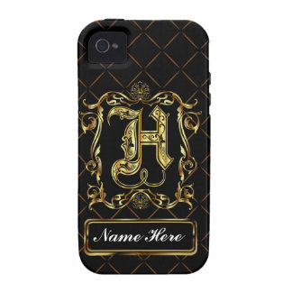 Monogram H Vibe Important View Notes Please Case-Mate iPhone 4 Cases