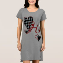 Monogram H Women's T-Shirt Dress