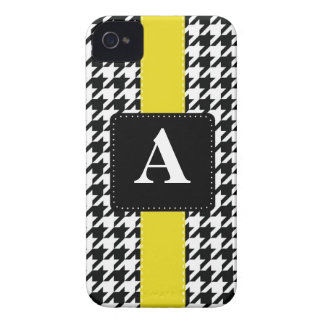 Monogram Houndstooth iPhone 4 Case-Mate Cases