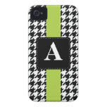 Monogram Houndstooth iPhone 4 Cover