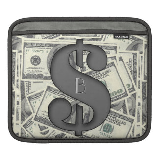 Monogram Hundred Dollar Bills Rickshaw Sleeve
