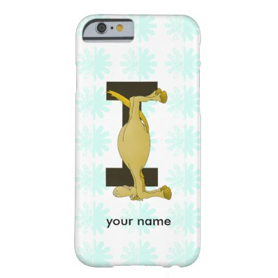Monogram I Flexible Horse Personalised Barely There iPhone 6 Case