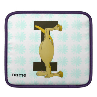 Monogram I Flexible Horse Personalised iPad Sleeve