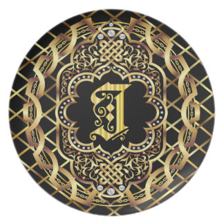 Monogram I IMPORTANT Read About Design Dinner Plate