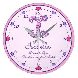 Isabella Name Art Wall Décor Zazzle