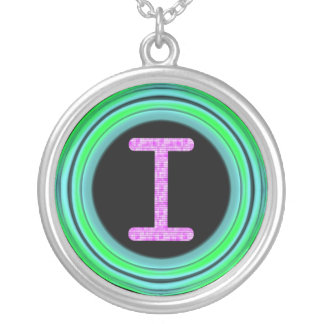 """Monogram """"I"""" Necklaces"""