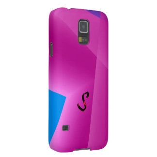 Monogram in Pink Samsung Galaxy S5 cover