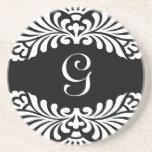 Monogram Initial Coasters