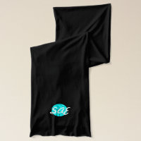 Monogram Initial Volleyball Scarf [CUSTOMIZE!]