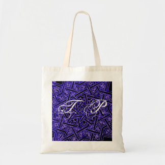 Monogram Initials Shopping Lunch Bag