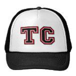 """Monogram Initials """"TC"""" Trucker Hat"""