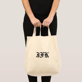 Monogram Initials Tote Bag