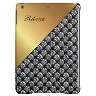 Monogram iPad Air Case With Bling