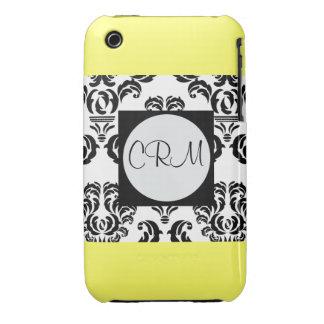 Monogram iPhone 3/3Gs Case