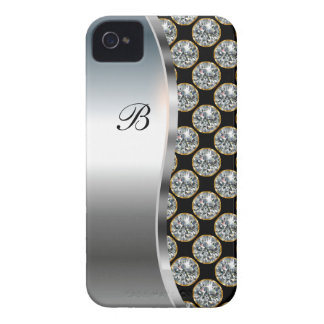 Monogram iPhone 4 Bling Case