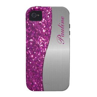 Monogram iPhone 4 Glitter Case iPhone 4/4S Cases