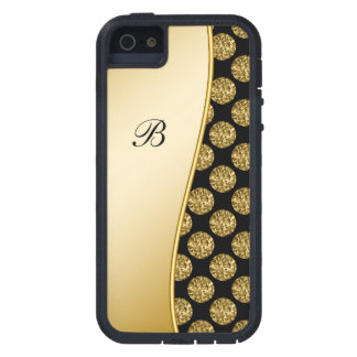 Monogram iPhone 5 Bling Case Cover For iPhone 5/5S