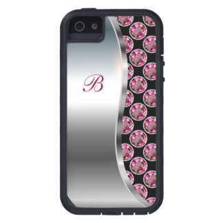 Monogram iPhone 5 Bling Case iPhone 5 Cover