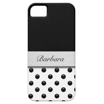 Professional Business Monogram iPhone 5 Case