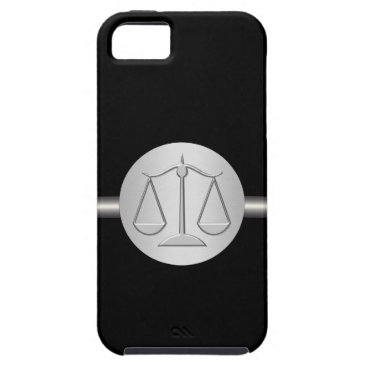 Lawyer Themed Monogram iPhone 5 Case Attorney