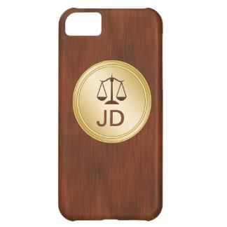 Monogram iPhone 5 Case Attorney Theme