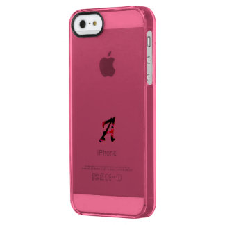 Monogram iPhone 5 Deflector Case in Pink Uncommon Clearly™ Deflector iPhone 5 Case