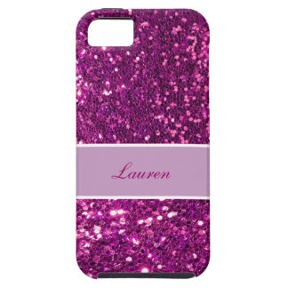 Monogram iPhone 5 Glitter Case