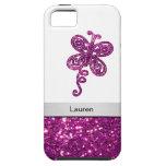 Monogram iPhone 5 Glitter Case iPhone 5 Case