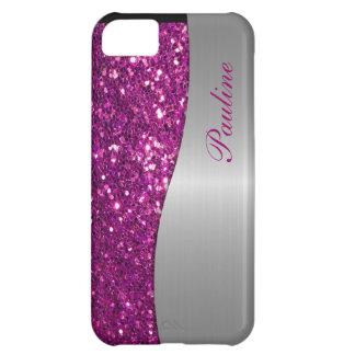 Monogram iPhone 5 Glitter Case iPhone 5C Cover