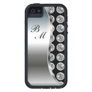 Monogram iPhone 5S Bling Case iPhone 5 Case