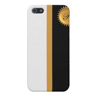 Monogram  iPhone SE/5/5s cover
