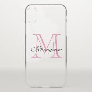 Monogram iPhone X Case