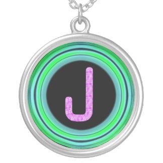 "Monogram ""J"" Custom Necklace"