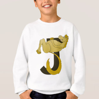Monogram J Flexible Horse Personalised Sweatshirt