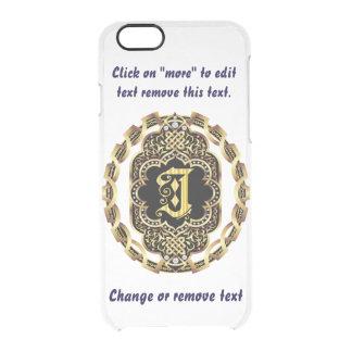 Monogram J iPhone 5/5s & 6-6 plus  Deflector Case