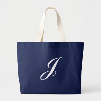 Monogram J Jumbo Tote Bag<Black>