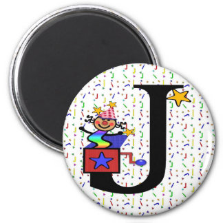 "Monogram ""J"" Magnet"