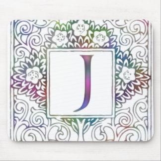 Monogram J Mouse Pad